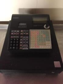 Casio electronic cash register till commercial