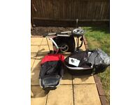 Icandy travel system with maxi cosi adapters