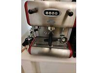 La San Marco 85E Flexa coffee machine (needs technical check)