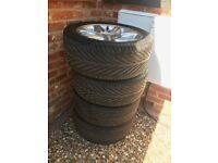 Jaguar XK8 Wheels and tyres. 255/45 R18