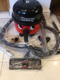 Henry new accessories 1 year guarantee