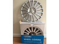 set of 4 universal 15 inch new wheel trims