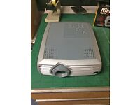 InFocus LP240 LCD Projector with case. Film Projector. Computer Projector. TV Projector