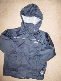 Girls Trespass Waterproof Jacket / Coat