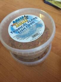 Free tropical fish food