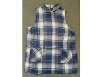 c909a4b606e Matalan Papaya Ladies/Girls Check Sleeveless Tunic Blouse Top Size 8