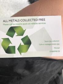 Metal collection and garden services