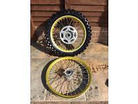 RMZ 250 450 exel wheels kxf