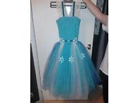 Frozen Tutu Dress and Cape - Prom Dress