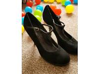 Love Label T-bar high heels size 5