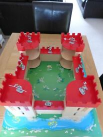 Wooden Play Medieval Castle Castle