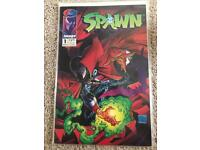 Spawn Comics Issues 1-5