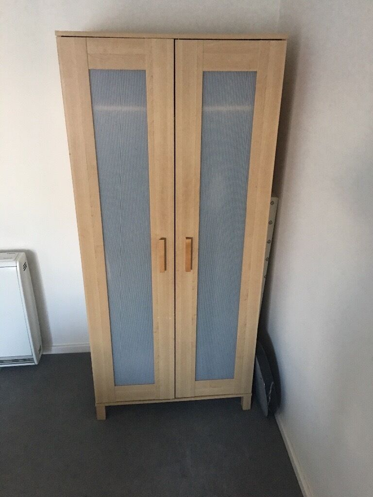 Ikea ANEBODA wardrobesin Sidcup, LondonGumtree - Two ikea ANEBODA wardrobes for sale. Hanging rail with shelf unit inside each one. Dimensions Assembled size Width 81 cm Depth 50 cm Height 180 cm Light beech colour. Collection only please (ground floor) We would like £20 each but would be open to...