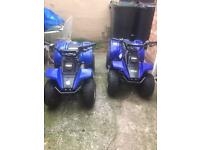 Two quads cash or swap