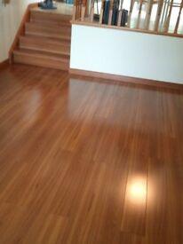Laminate floor fitter £4.50 per sqm