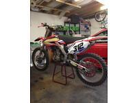 Honda crf 250 2005 twin pipe motocross mx