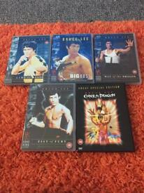 Bruce lee collection 5 dvds
