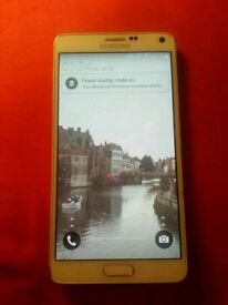 "Unlocked Samsung Galaxy Note 4 (white) SM-N910T (5.7"" phablet)"