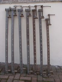 Joiners sash clamps