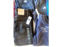 Boy's Clothing Lot- size 6. Gap jeans (new with tags),several trousers, London Fog Coat, shoes, Uggs