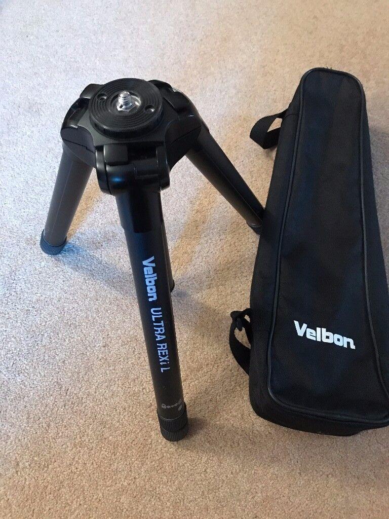 Velbon Ultra REXiL travel tripod