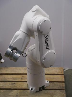Staubli Unimation Tx60 6-axis For Increased Flexibility Articulated Robotic Arm