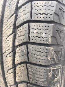 "245/65/17 Michelin Xice 9/32 + rims 5x112"".  Ford"