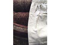 Classic Cream Curtains 2m long, 1.7m wide, pencil pleat