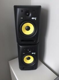 KRK Rokit 6 RPG2 Speakers / Monitors - (Pair For Sale) - 1 Not Working