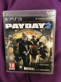 PS3 game Payday 2