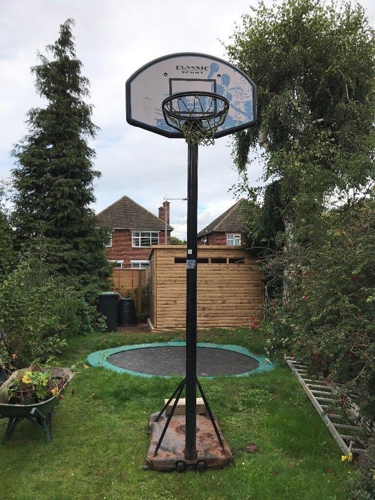 Basketball basket and stand for sale