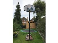 Basketball basket and stand for sale