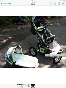 Baby needs(carseat, jogging stroller/bassinet, chairs, bikes)