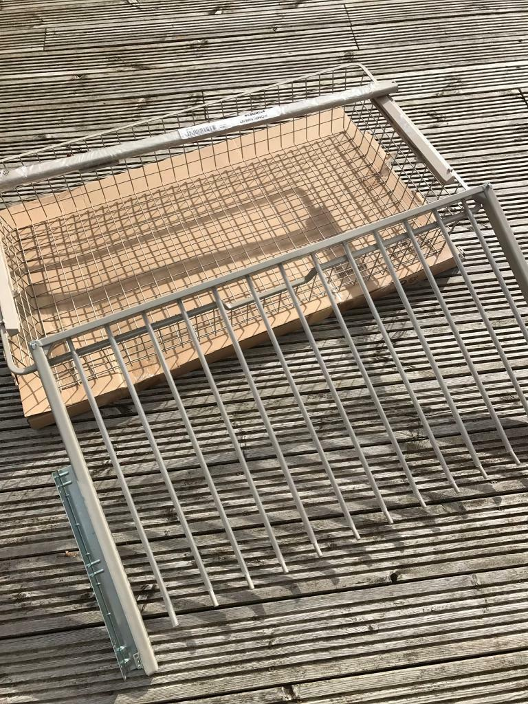 IKEA komplement trousers racks, rail and basket | in Wallsend