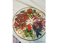 """Green Jelly 3 little pigs 12"""" picture disc"""