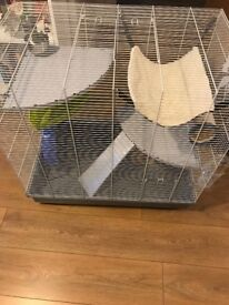 Ferplast Jenny Rat Small animal / Rat cage with accessories - (80 x 50 x 80 cm)