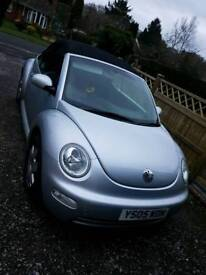 2005 VW beetle Convertible 1.9tdi FSH