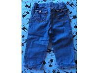 Elle designer jeans 12-18 months