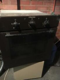 Electrolux electric built in oven