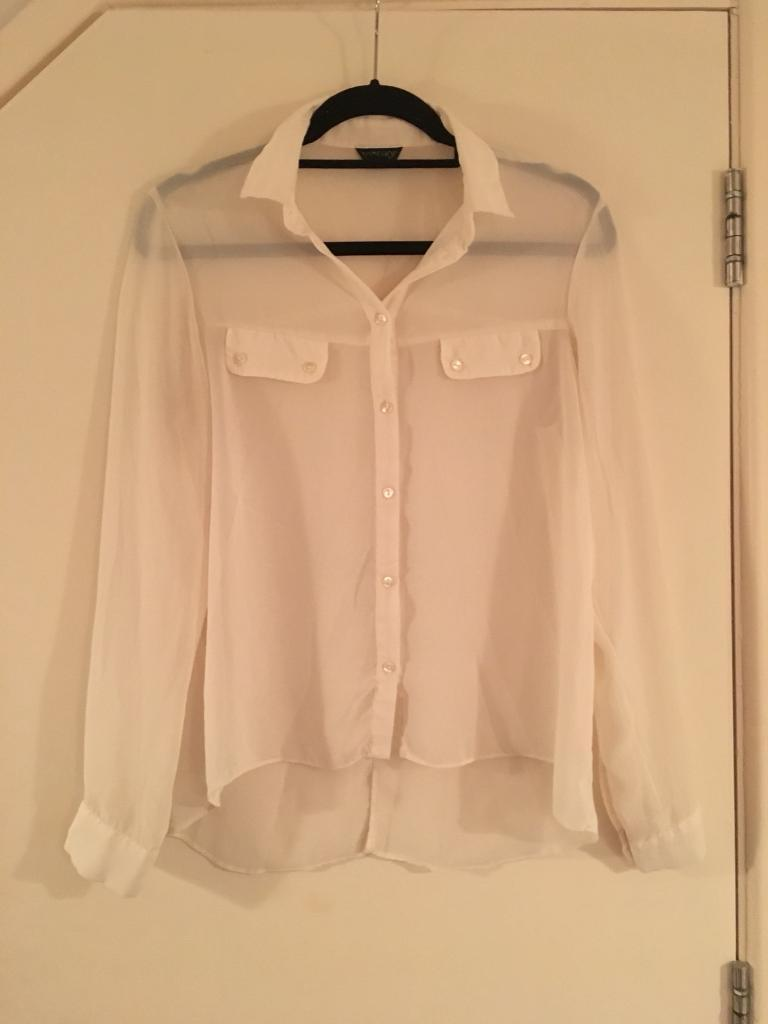 Topshop blouse size 8/10