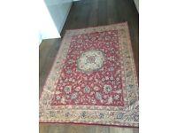 Laura Ashley templeton rug, 191cm x 130 cm