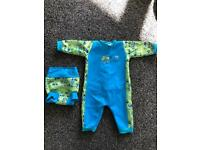 Splash about warm in one and happy nappy 3-6 months