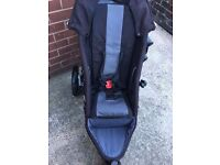 Phil and Ted's Sport v2 Double Buggy WITH Cot, Rain Cover