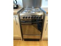 Four Hob Indesit Electric Cooker For Sale - Excellent Condition