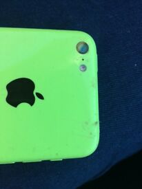 iPhone 5c Green - unlocked
