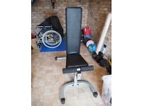 Power Line heavy duty incline/flat weight lifting bench