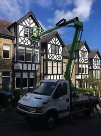House Exterior Painters , Cherry Picker , Painting