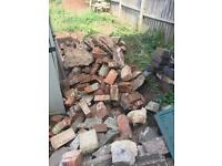 Old bricks hardcore etc free for collector