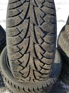4 PNEUS HIVER HANKOOK 195 55 16  - 4 WINTER TIRES