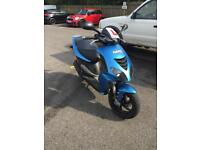 Nrg power 50cc year mot and it is a year 2008 bike